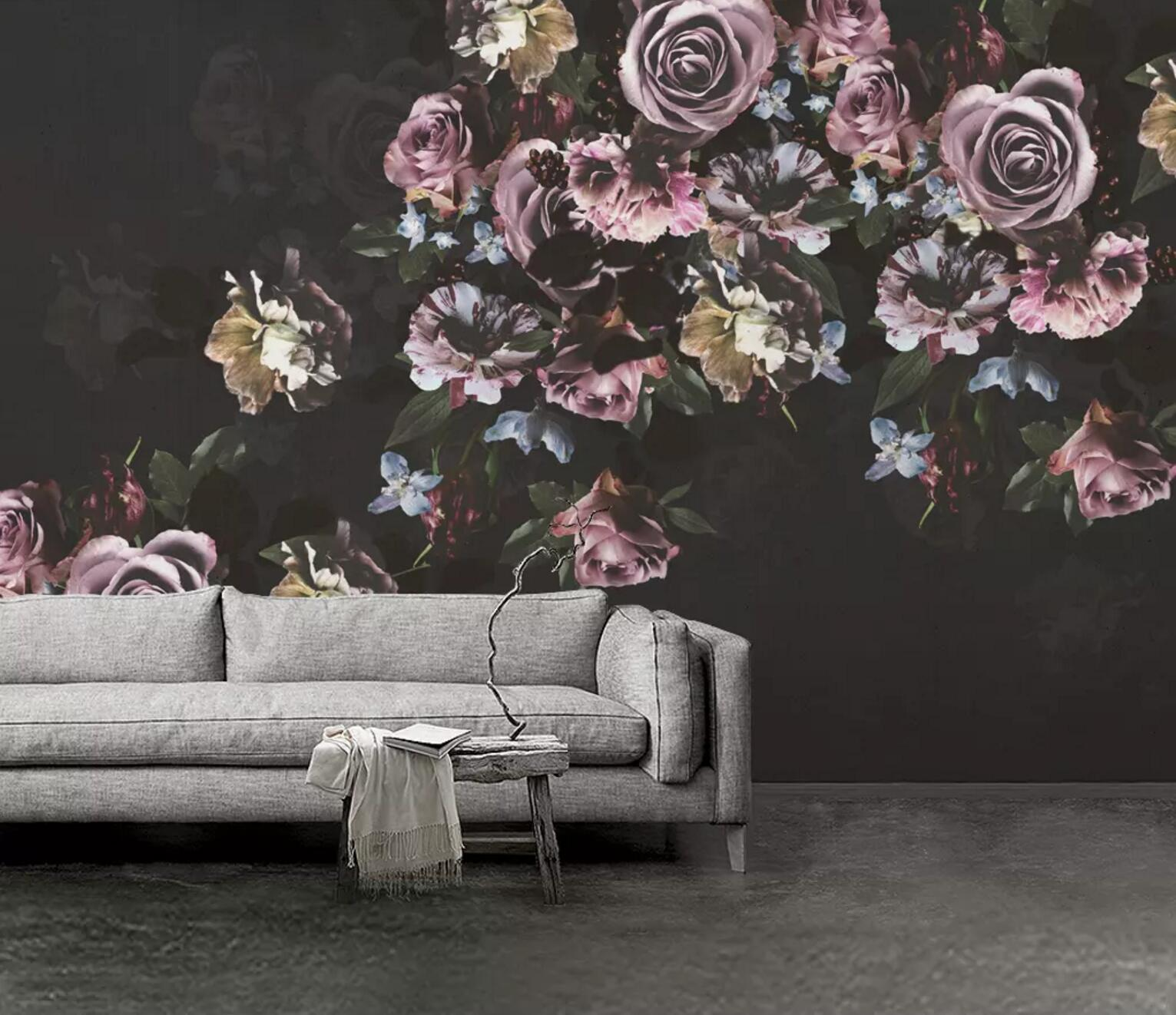 100 Wallpaper Bunga Rose Hitam  Terbaru
