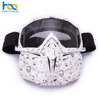 High Quality Custom Logo Anti-Scratch Snow Ski Mask Goggles