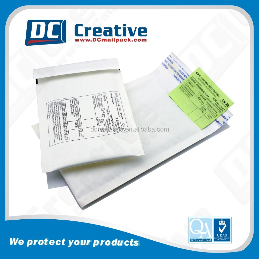 6x10 factory direct white kraft bubble envelopes