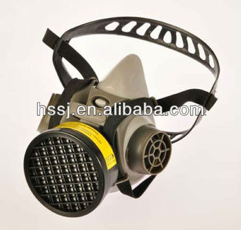 2016 Actived Carbon Filter Gas Mask Military Gas Mask Rubber Frame ...