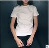 Wholesale blank women t -shirt fashion Korean white t shirt short sleeve