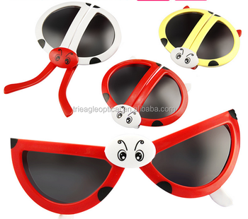4bdf0ef81f Gift promotion company preferred supplies wholesale custom folding cute  solar sun 3D polarized glasses for kids
