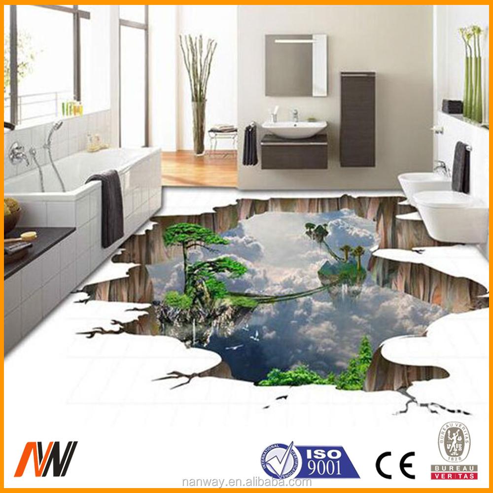 600 600mm Cheapest Price 3d Effect Tiles For Bathroom