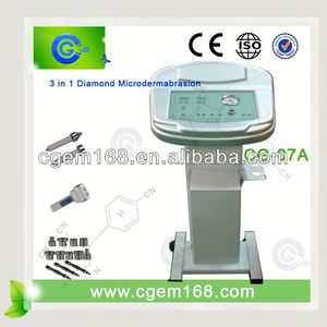 3 Diamond microdermabrasion tips facial peeling machine personal home use