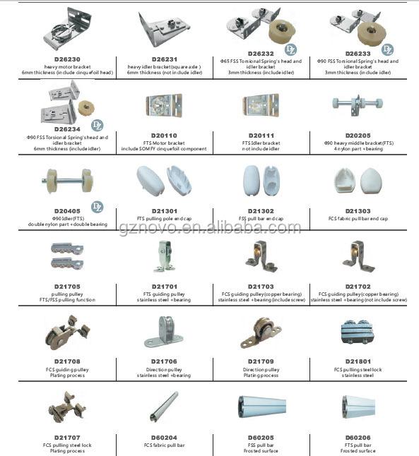 4mm Steel Wire Lockfor Motorized Fts/fcs/fss Skylight Blind ...