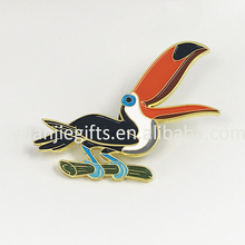 Cloth lapel pins badges/shirt collar lapel pins / soft enamel custom pins