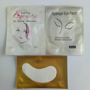 Wholesale good quality lint free eye patch gel for eyelash extension