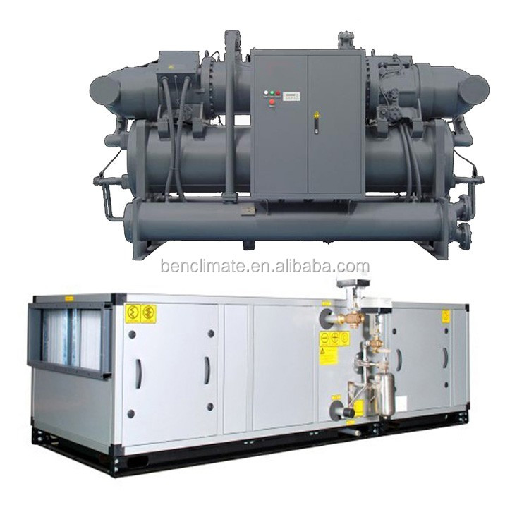 ahu equipment for condensation center air conditioning system