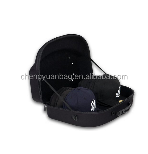 EVA cap case travel carry hat case for baseball, cap case for storage and traveling