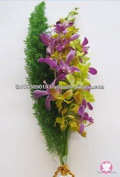 Mazzo Di Fiori Orchidee.Thailandia Naturali Freschi Recisi Orchidee Bouquet Di Fiori Buy