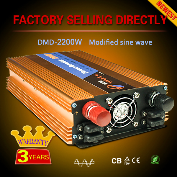 Competitive price single output 12v 220v 2500w inverters for sale
