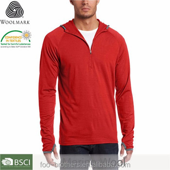 3b15adfa21 Outdoor Clothing Men's Hooded Indie Men's Merino Wool Hoodie ...