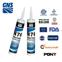 Anti puncture tyre aluminum and glass silicone joint sealants