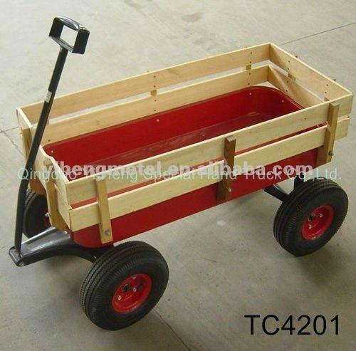Carro de madera ni os mano carro porta beb tc4201 carros y carretillas de mano identificaci n - Carro porta sillas playa ...