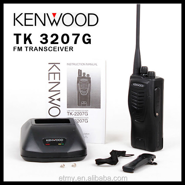 10 meter walkie talkie uhf fm portable kenwood TK3207G radio communication