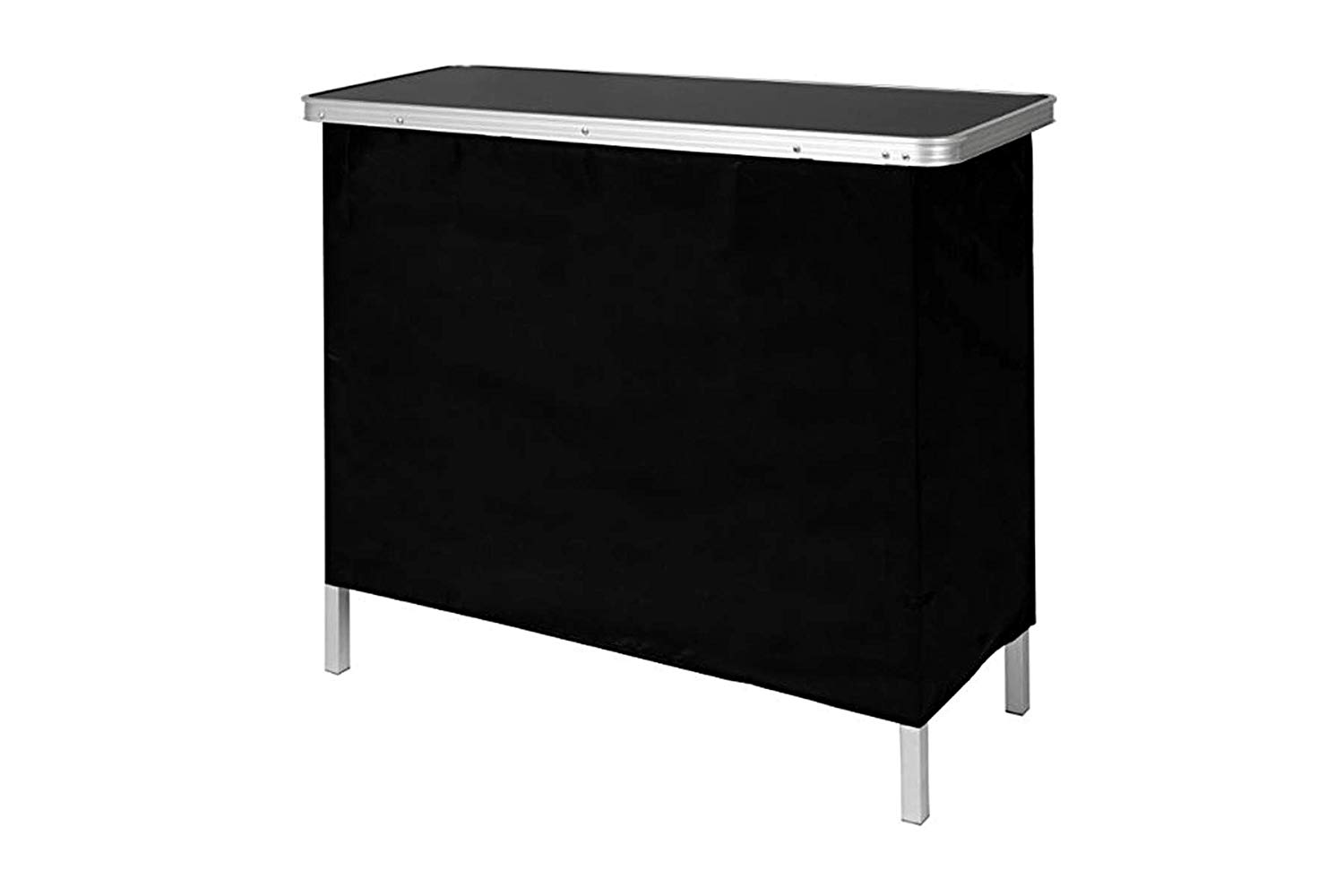 Buy Gobar Portable High Top Drinks Bar Table Folds Out ...