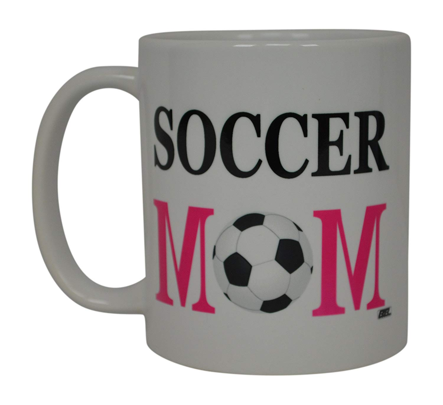 Soccer Mom Coffee Mug Best Mother Novelty Cup Great Gift Idea For Mom Mothers Day Wife Or Parent