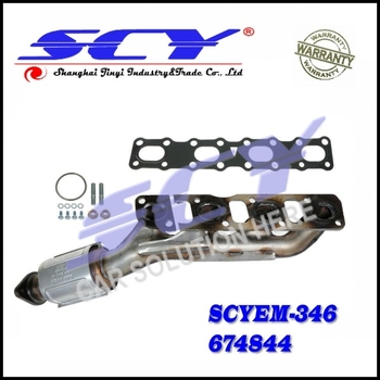Exhaust Manifold Fits 2004 2012 For Nissan Titan Armada  Pathfinder14002 7S00A 140027S00A 14002E00A 14002