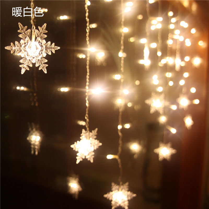 Hot Selling battery operated led decoratieve licht voor diwali goedkope decoratieve led gordijn licht kerstverlichting