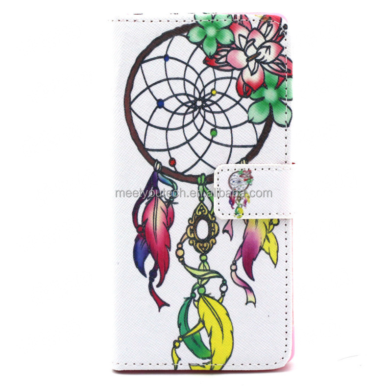 Customize Phone case Printed Leather cover flip for acer liquid z630s