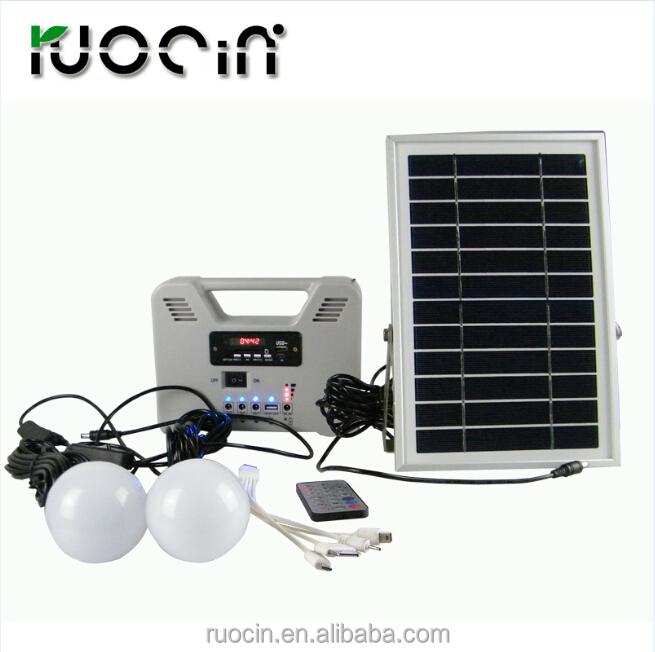 Superior Mini Solaranlage Für Haus Beleuchtung Gehören Solarpanel Led Lampen