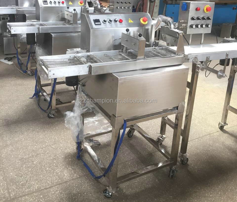 automatic small chocolate chips depositing machine