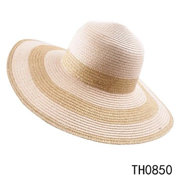 TOROS Cheap Price High Quality Women Popular Chinese Straw Hat Sun Boater  Hat 524930d0f37