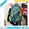Custom student sports canvas polyester back pack school backpack bag