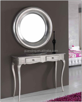 Half moon console table / art deco console table with mirror