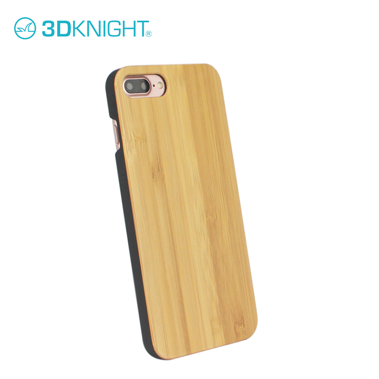 Bamboo Wood Back Cover For iPhone 8 8plus back case real wooden material luxury new arrival phone covers