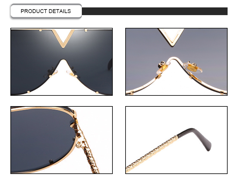 Fuqian female designer sunglasses customized for sport-9