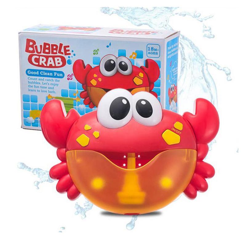 kids baby water toys tub plastic bath toy machine bubble crab & Automatic bath Bubble crab
