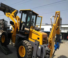 quarry machinery wheeled backhoe china loader for Sale