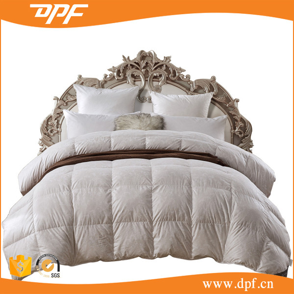 Hot sale queen size goose down filling comforter set