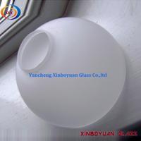 FROSTED GLASS HEMISPHERE GLOBE CHANDELIER LIGHT SHADE