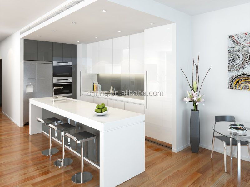 Modern Kitchen Cabinet White Color