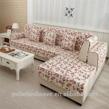 Washable Patchwork Sofa Cover
