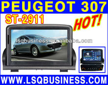 hot-selling PEUGEOT 307 auto central multimedia dvd player with gps/radio/canbus/ipod/pip/TV on-sale!hot!drive your life! New!