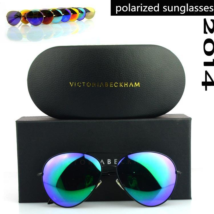 a89176cfe69 Polarized Sunglasses Designer VB Aviator Sunglasses Men Gafas Women ...