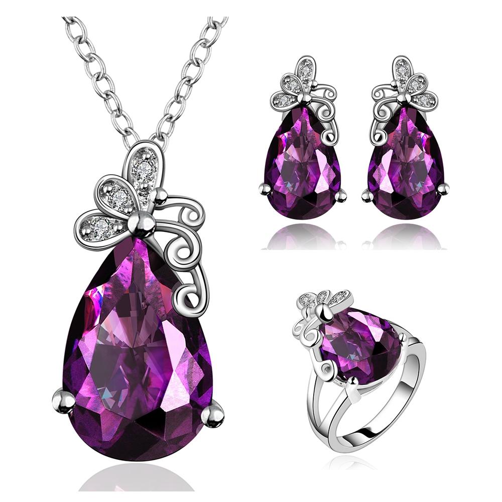 Murah Grosir Fashion Perhiasanperhiasan Kristal Besarperhiasan 1 Set Perhiasan Batu Imitasi Buy Kristalperhiasan Product On Alibabacom