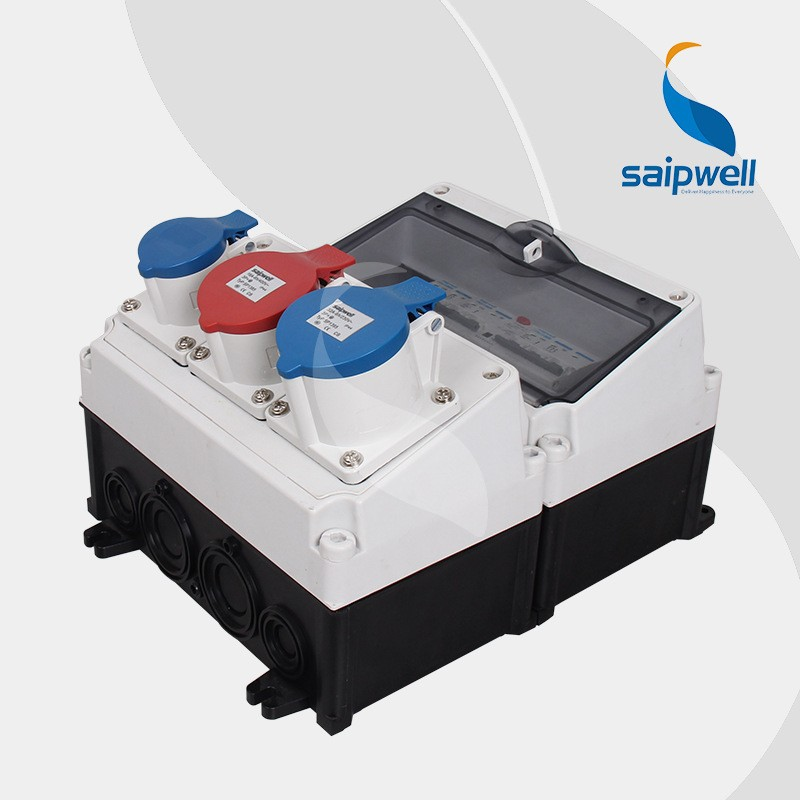 Saip  Saipwell Plastic Industrial Power Combination Socket