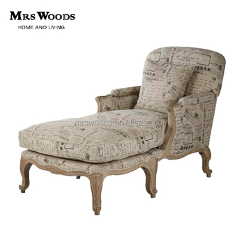 french script linen upholstered chaise lounge oak frame chaise lounge french oak chaise lounge  sc 1 st  Alibaba : chaise in french - Sectionals, Sofas & Couches