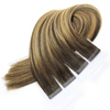 Best Selling Remy Tape Hair 100% Cuticle Aligned Hair Tape In Human Hair Extensions 100g/40pcs