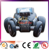 2016 Hot cheap inflatable car models, real size car inflatable character