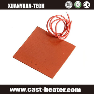 Electric Heating Silicone Rubber Flexible Heating Pad mat