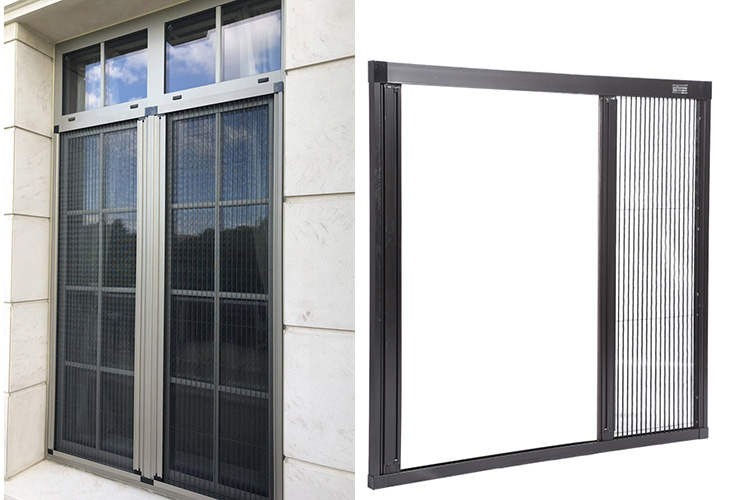 Aluminum Fly Screen Door Mosquito Net Door