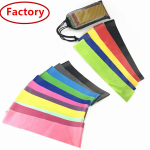 Natural latex full body exercise training looped resistance bands workouts