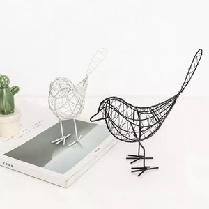 Metal wire art wall decoration for home