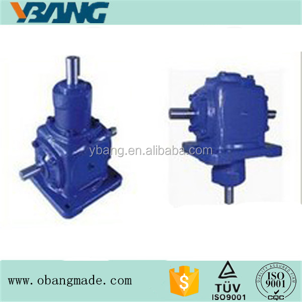 T series Spiral Bevel Gearbox Speed Reduction Ratio 1:1