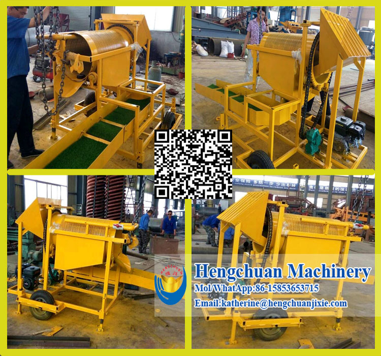 Mini Mining Equipment : Small gold wash plant for sale with grass sluice box buy
